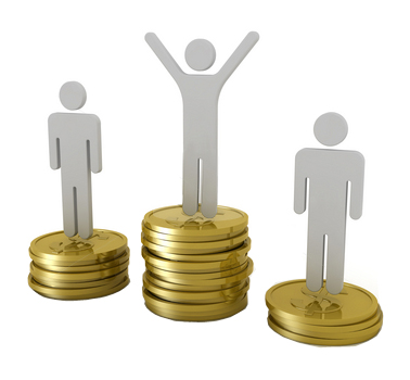 money podium